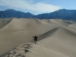 Heru on the Great Sand Dunes
