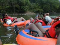 Tubing the Shennandoah River